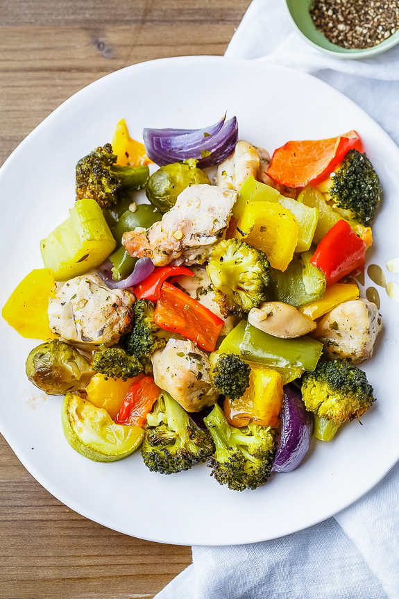 20 Minute Chicken And Vegetables