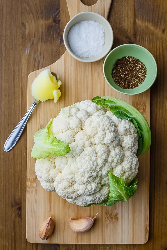 Cauliflower Alfredo Ingredients