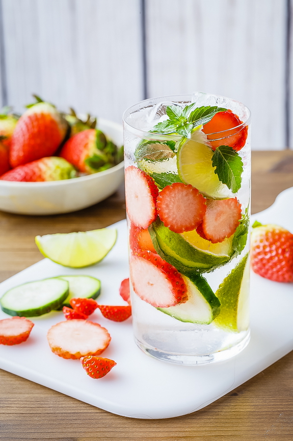 I've been enjoying this stress reduction detox water, and can feel the difference in my alertness and energy levels.