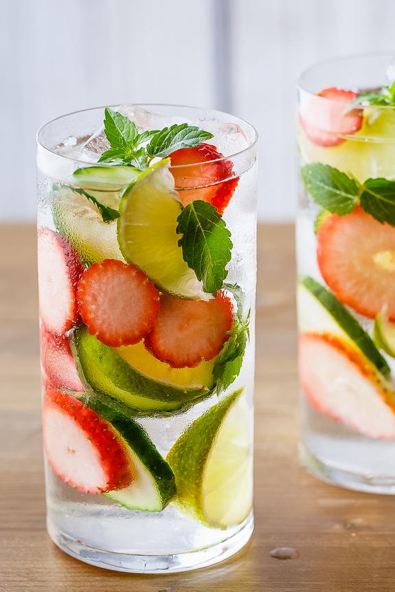 stress reduction detox water - paleo grubs