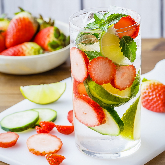 Stress Reduction Detox Water - Paleo Grubs