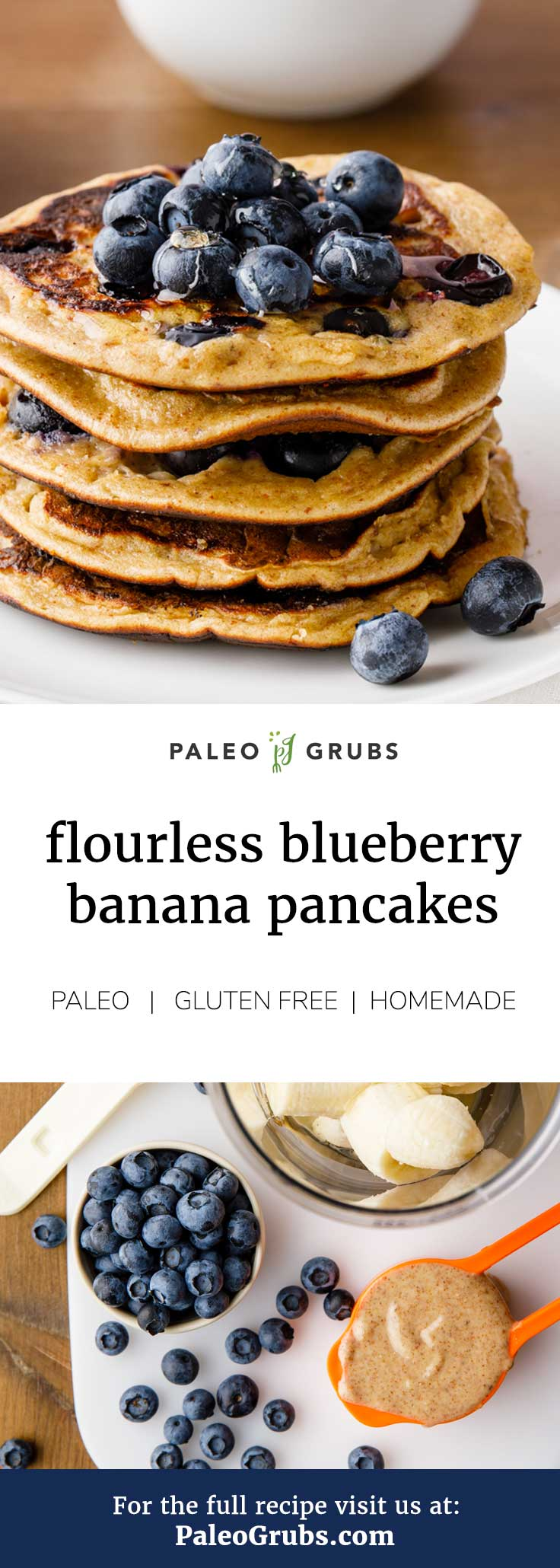These are the best low carb paleo pancakes ever! So yummy.
