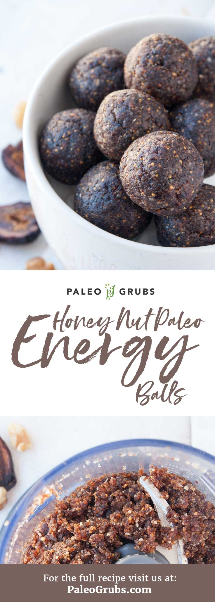 You have never had Paleo energy balls like these!! Wow. Such a tasty nutrient-dense snack and dessert all rolled into one.