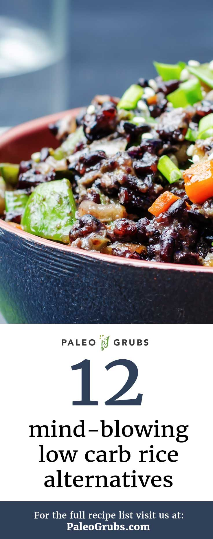 low carb paleo rice alternatives