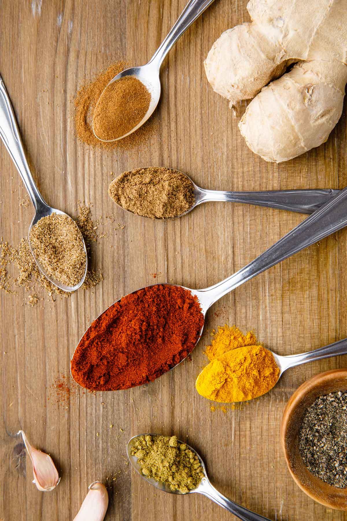tandoori chicken spices