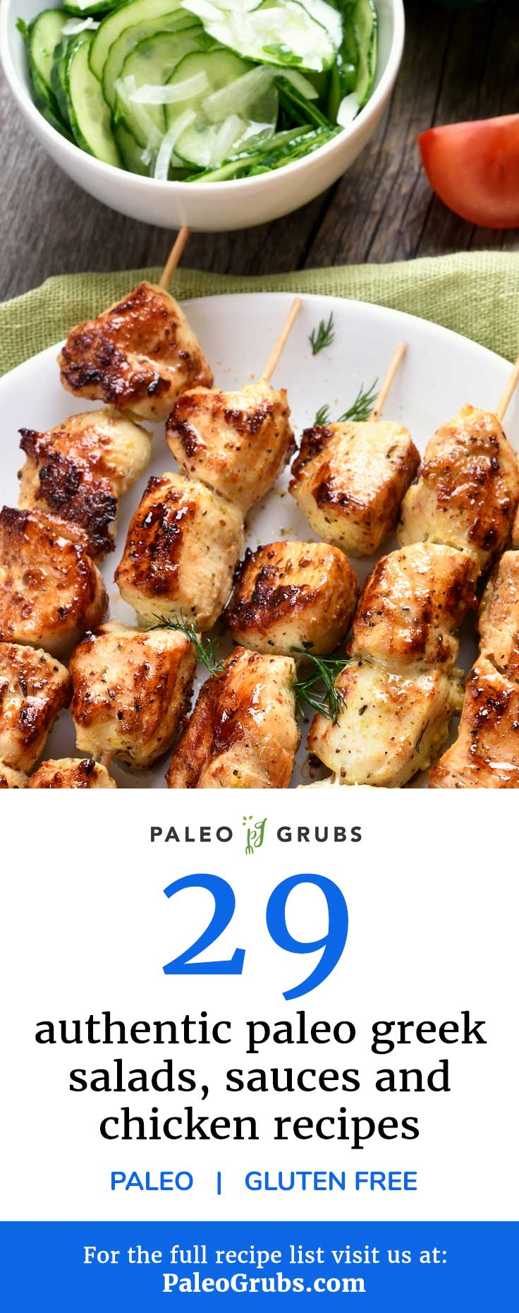 This list is a must read if you are Paleo and love Greek food and Greek recipes.