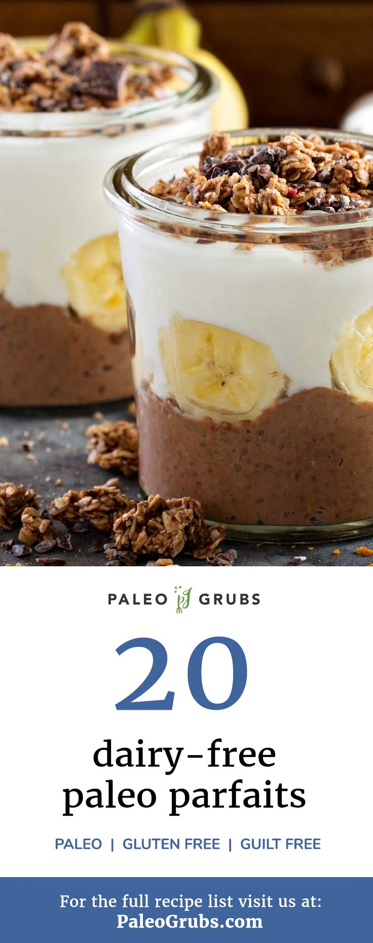 Yes! Parfait is back on the menu with the help of these paleo parfait recipes. Layer after layer of yumminess, and I don't have to force myself to resist dessert.