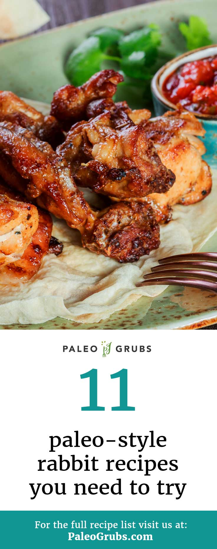 Rabbit is definitely a Paleo food, but without these rabbit recipes I wouldn't have known how to prepare it. Don't be afraid to try new foods with Paleo!