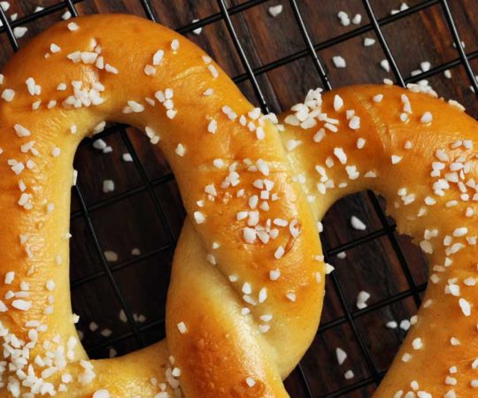 soft pretzel recipes