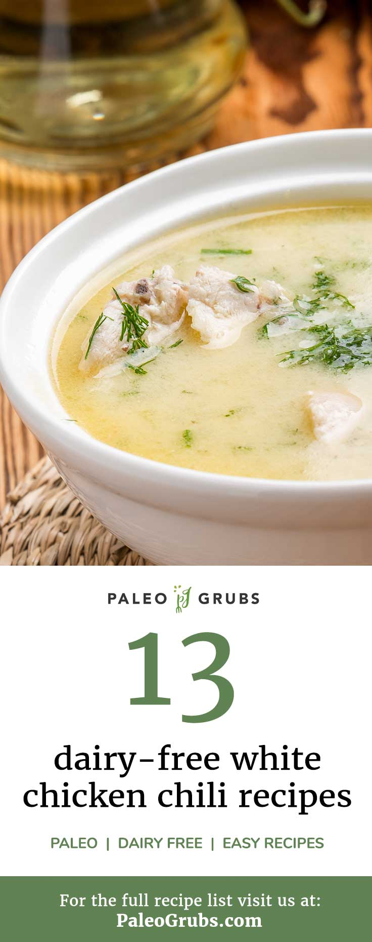 Making a white chili is a bit of an art form, so it's OK to borrow inspiration from these white chili recipes. They'll show you how to keep it Paleo but tantalize the taste buds.