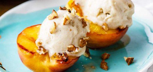 paleo peach dessert