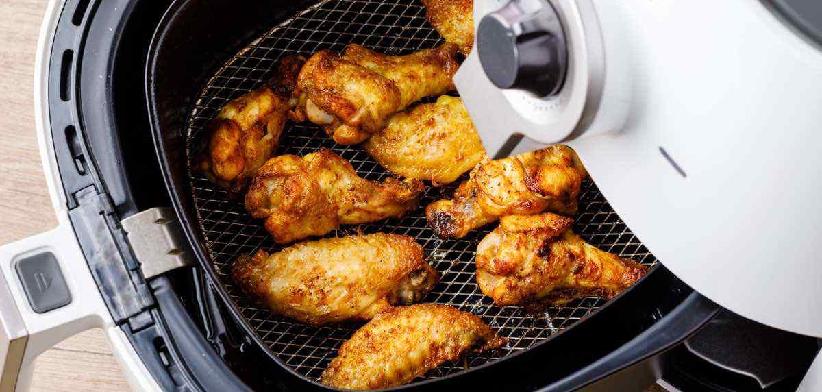 chicken wings prep