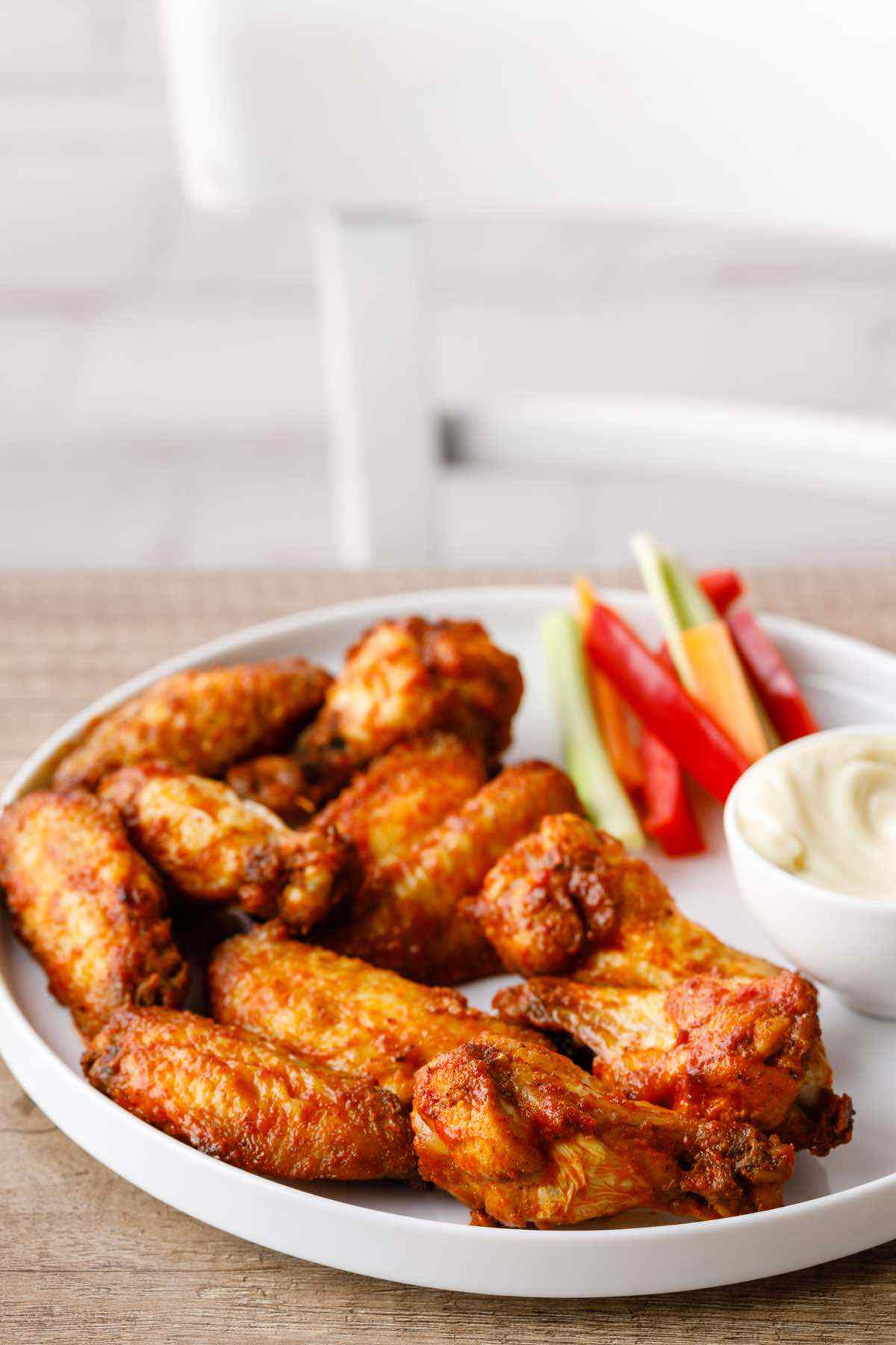 air fried chicken wings