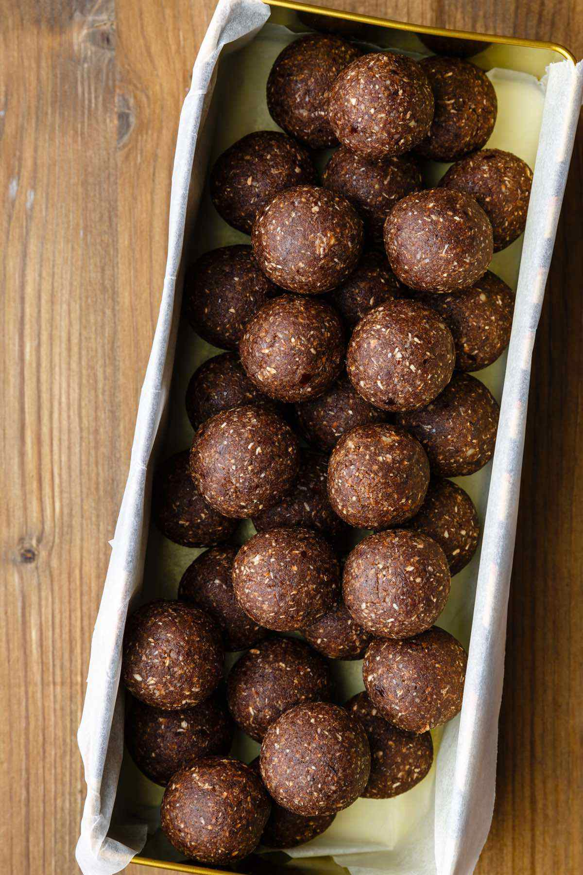 paleo almond joy balls