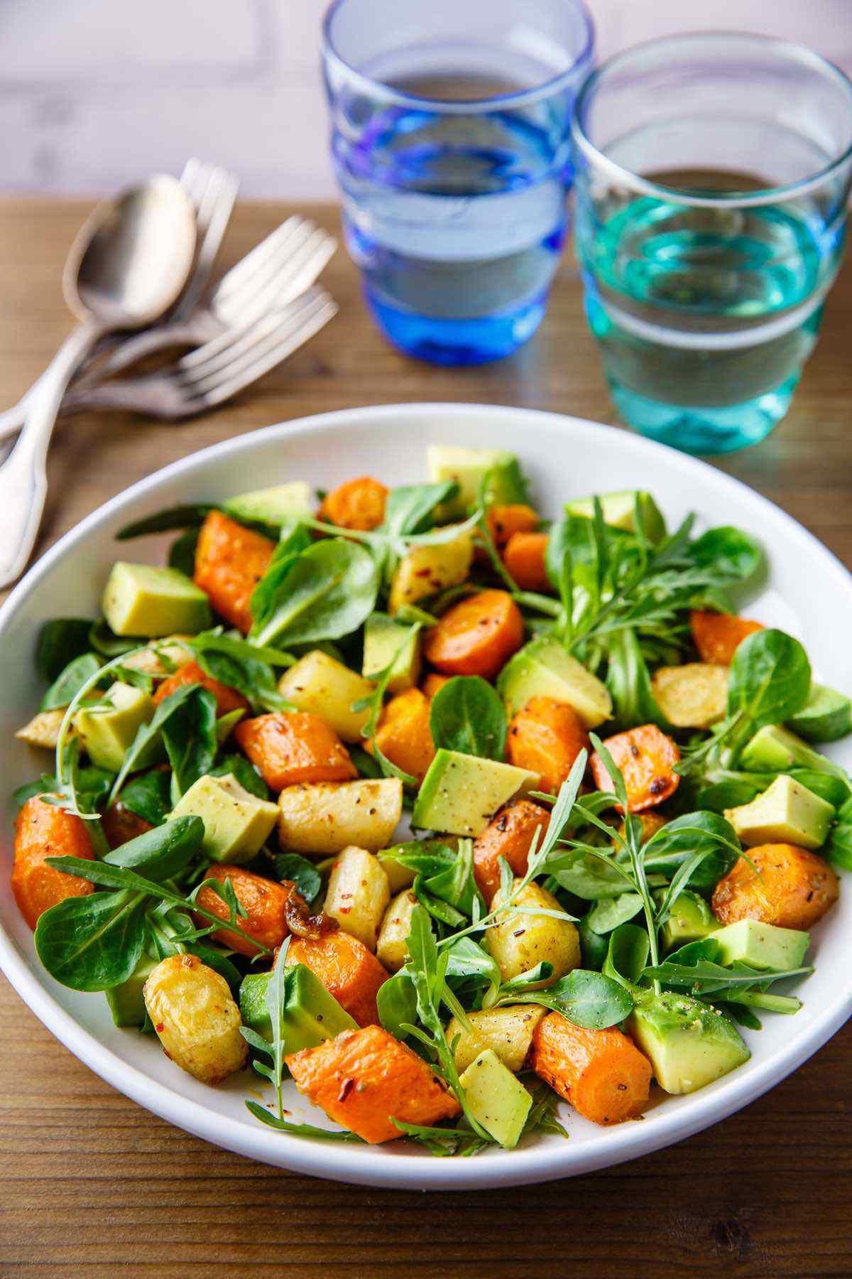 paleo carrot and avocado recipe