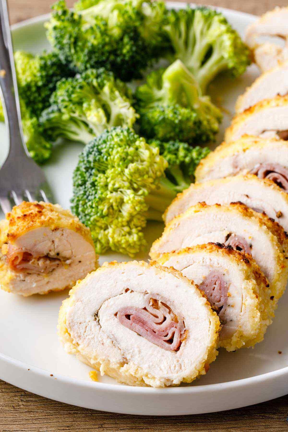 paleo chicken cordon blue