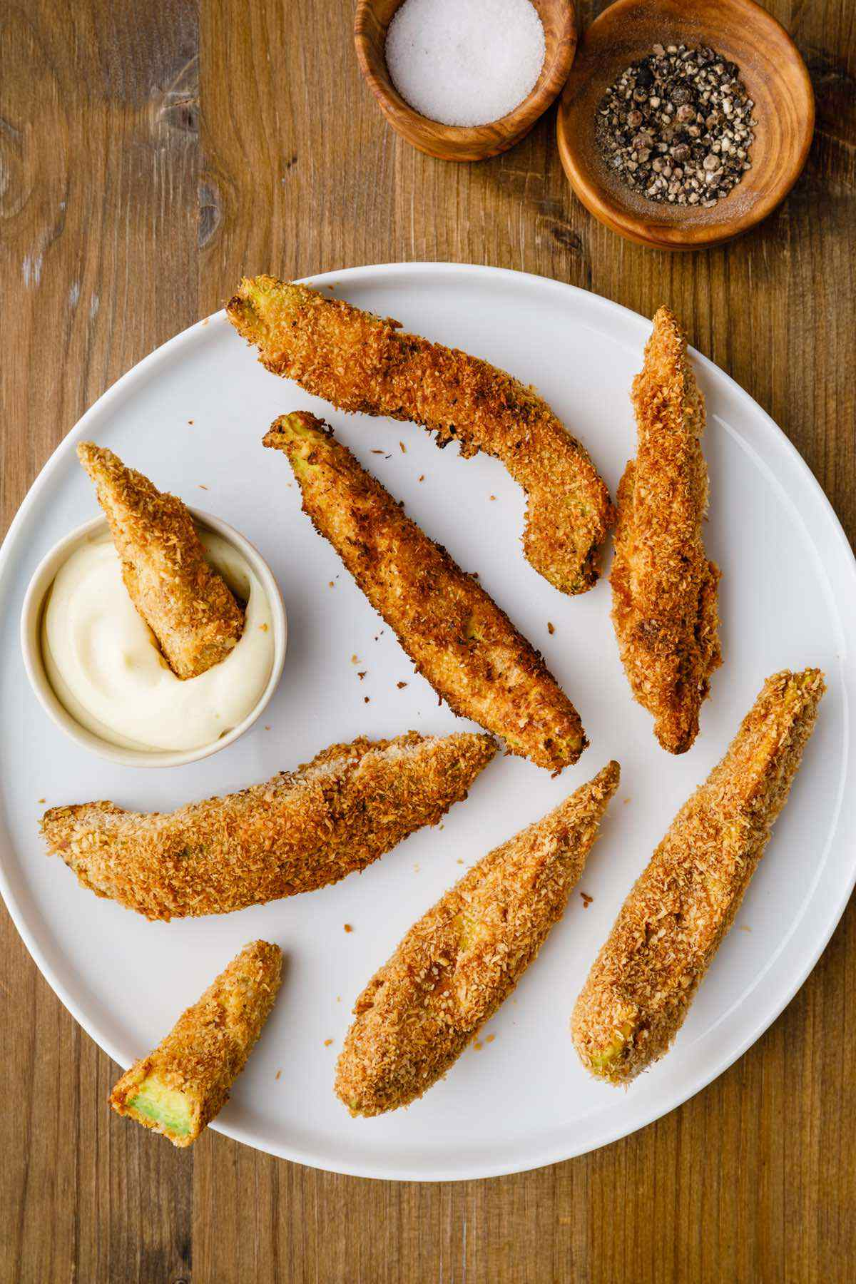 paleo avocado fries recipe
