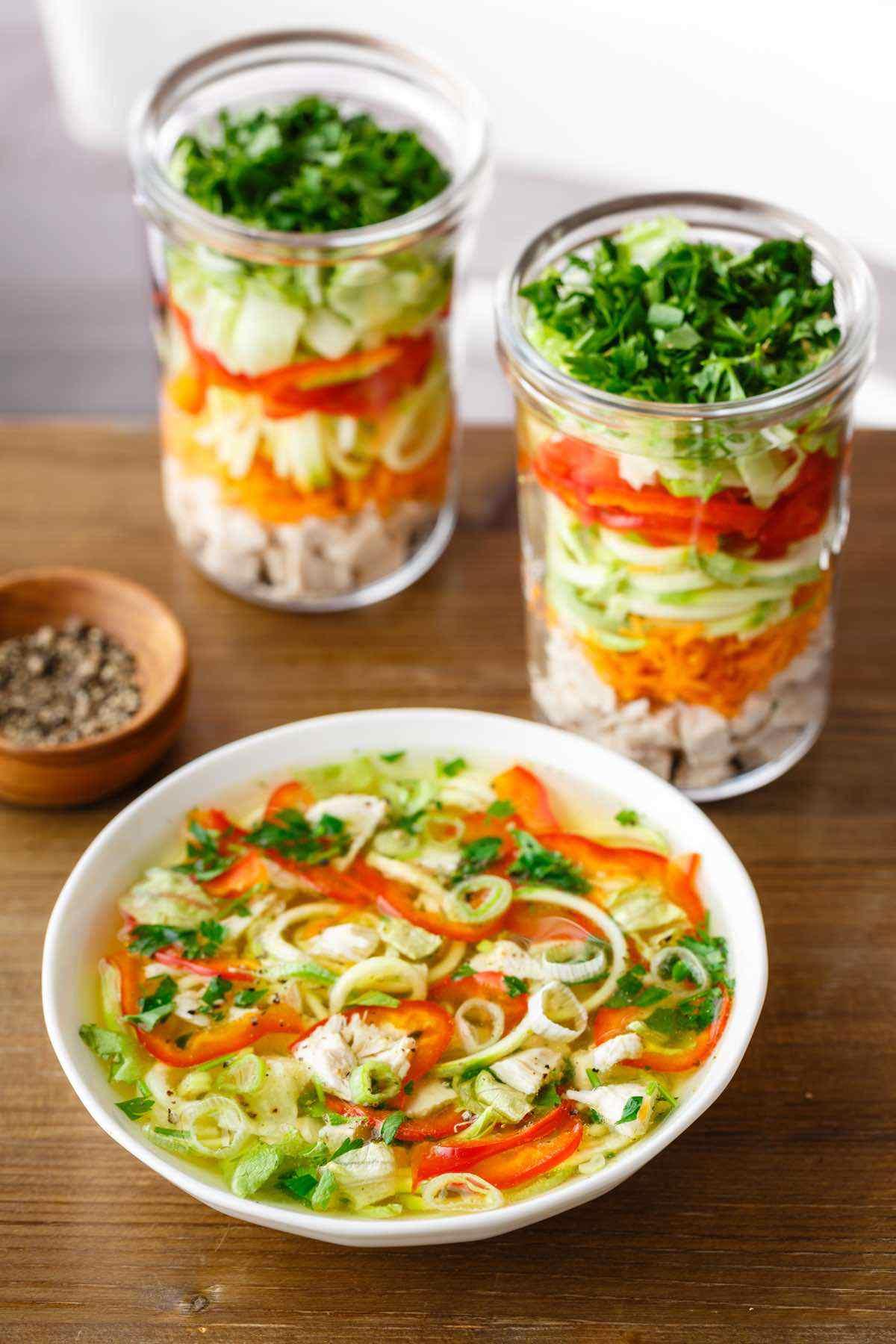 paleo chicken noodle soup recipe