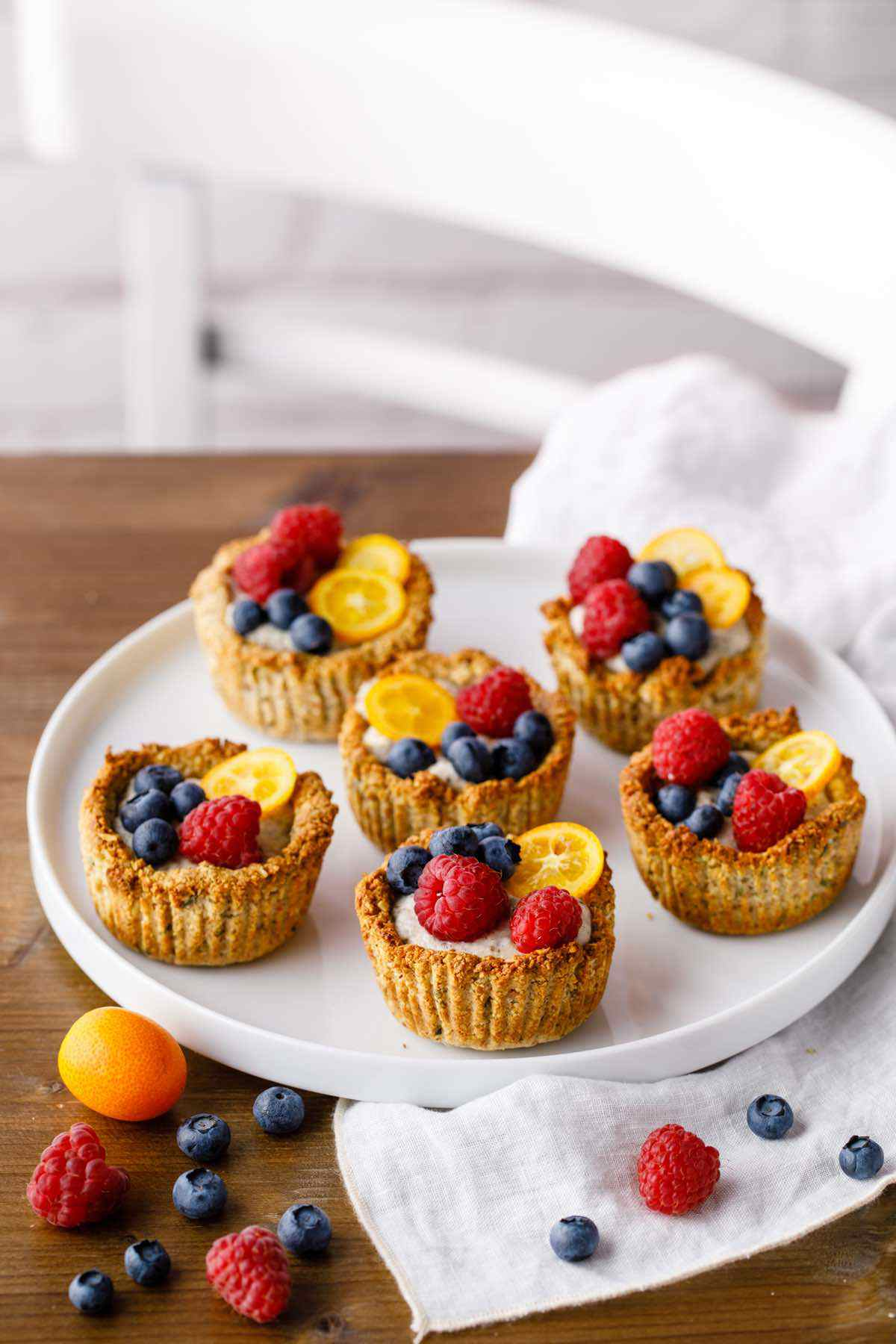 paleo granola breakfast cups