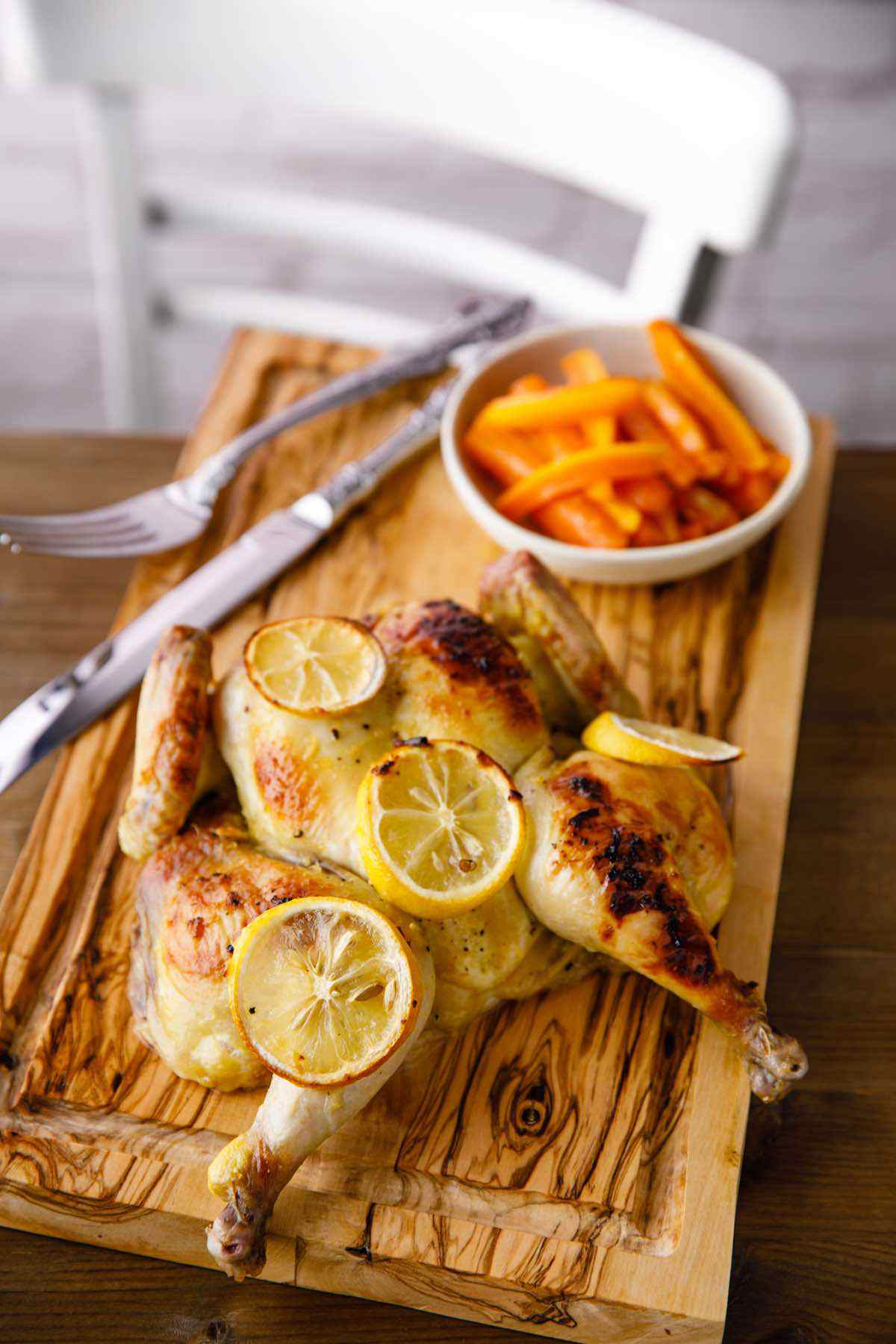 paleo roasted lemon chicken recipe