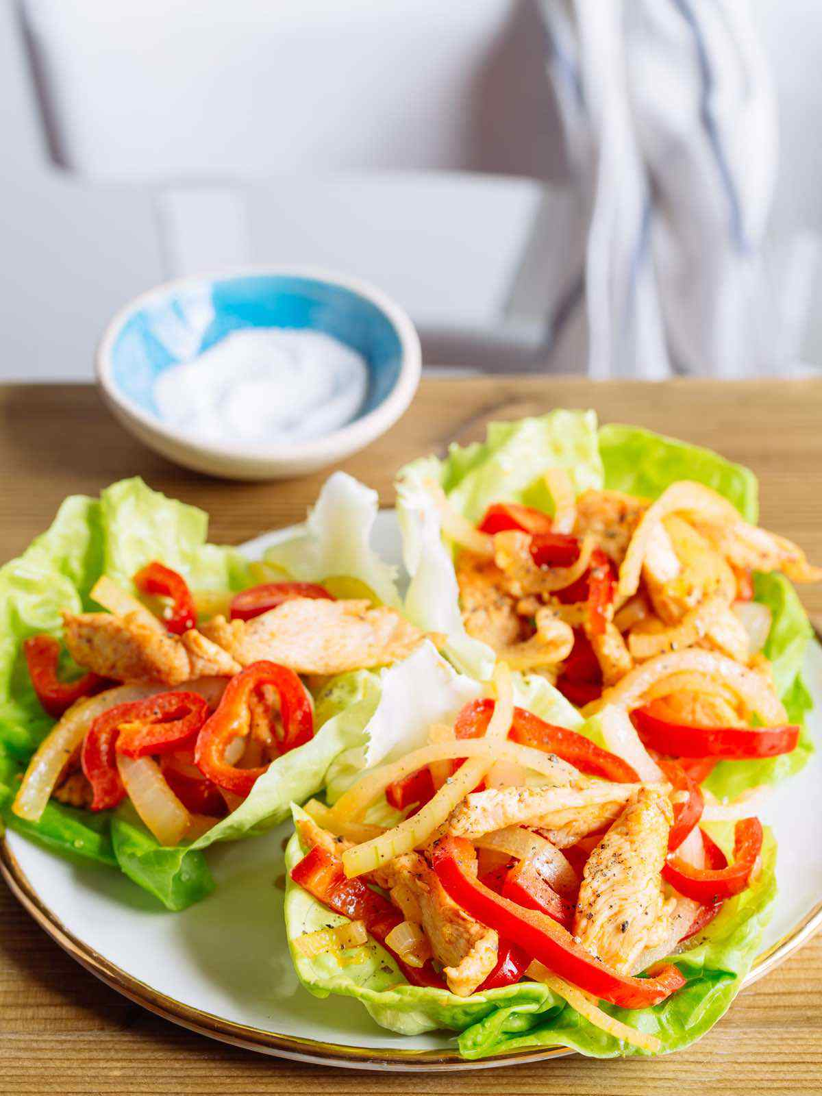 paleo spicy chicken fajita recipe