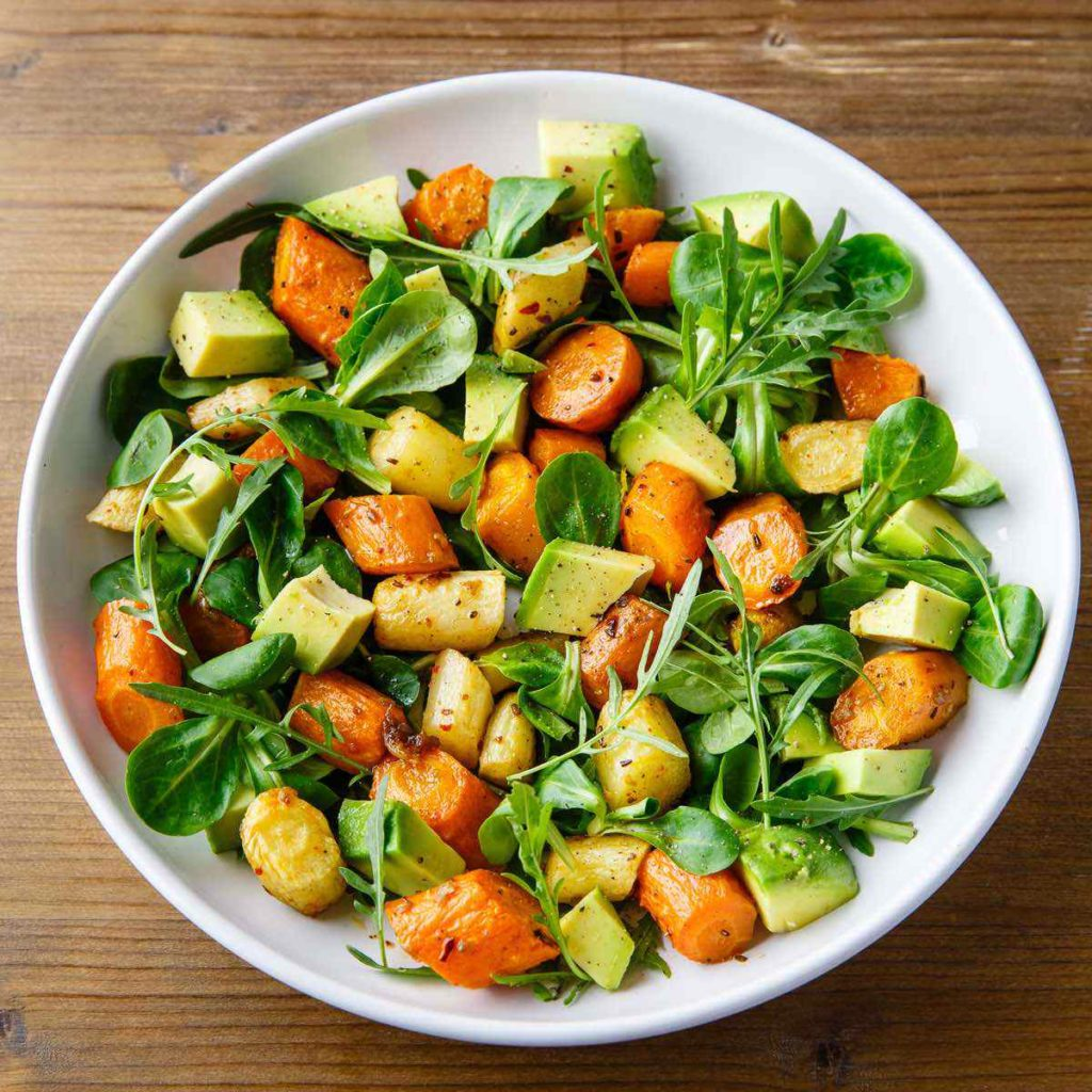 carrot and avocado salad recipe