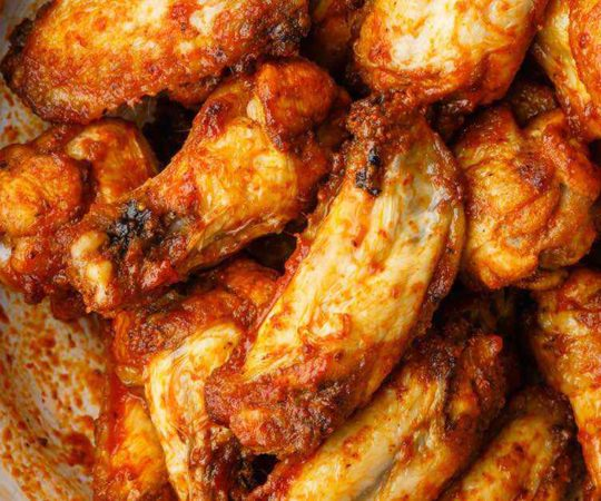 Air Fried Paleo Buffalo Wings