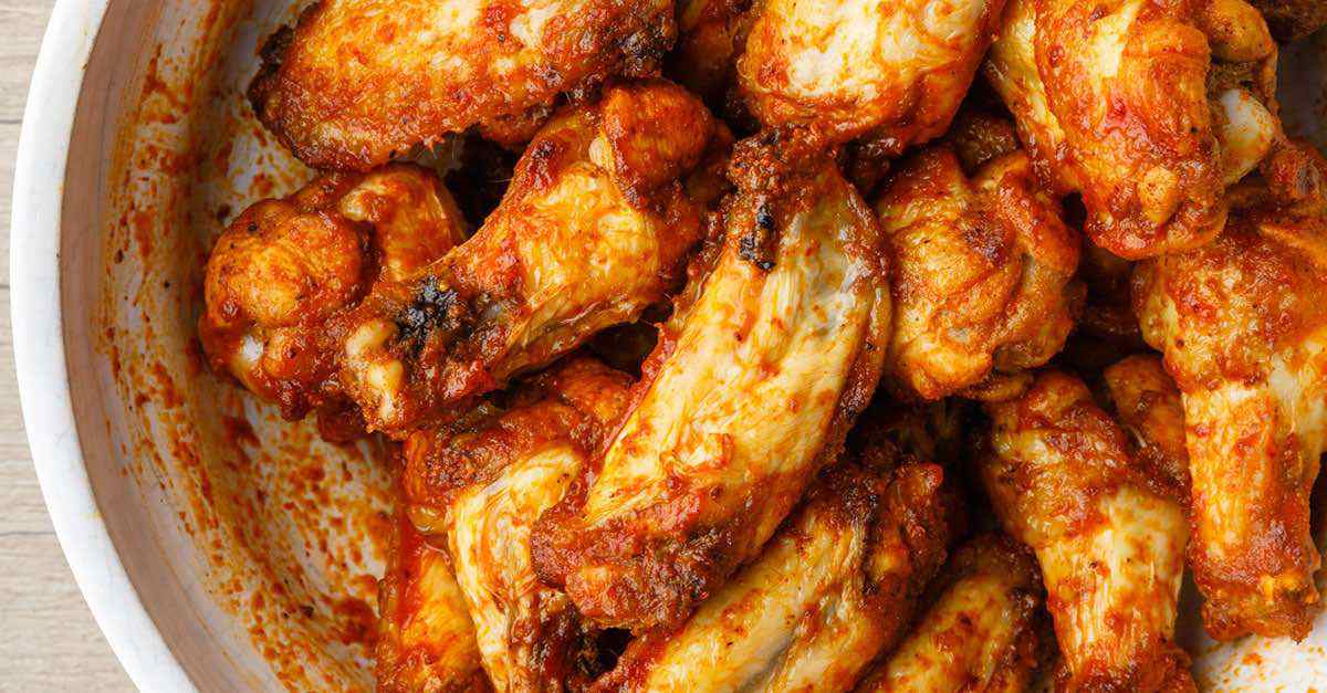 Air Fried Paleo Buffalo Wings A Healthier Way To Eat