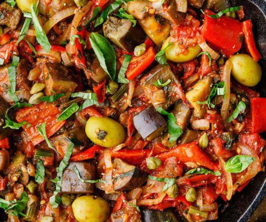 Authentic Caponata for Eggplant Lovers