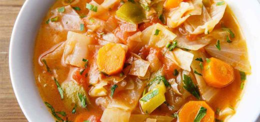 Cabbage Weight Loss Soup