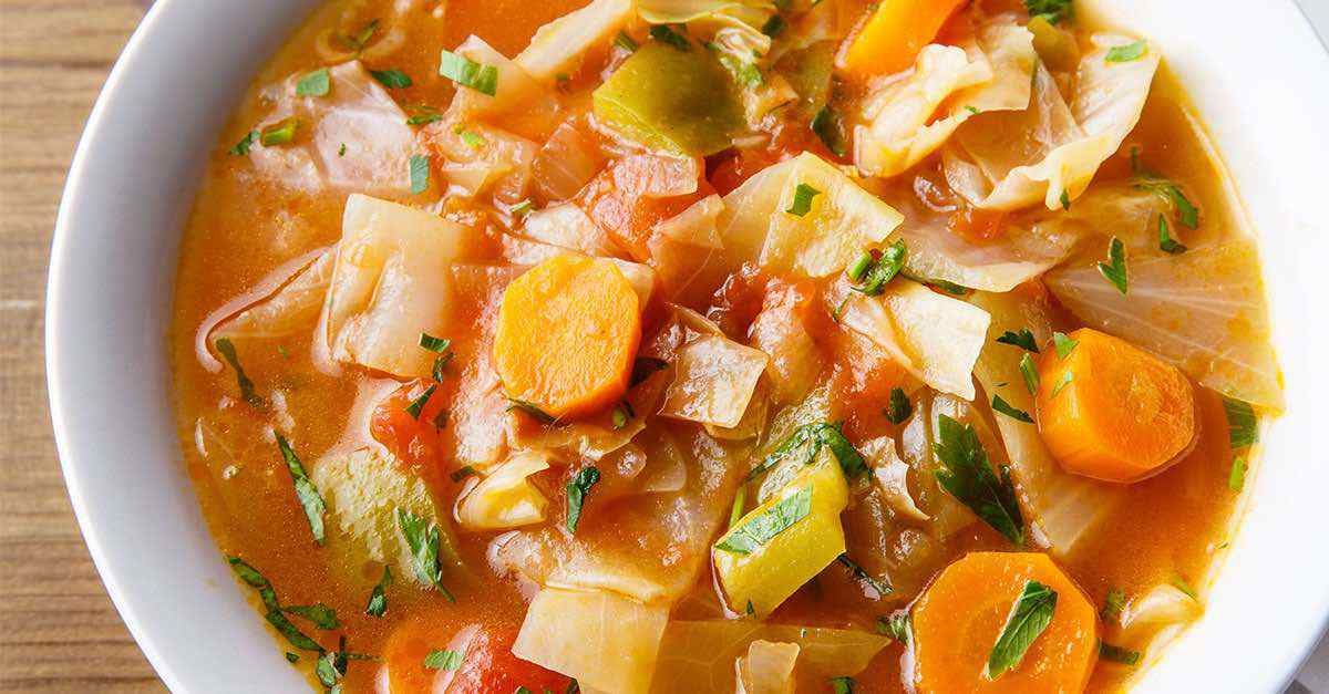 Cabbage Weight Loss Soup Cozy Comforting And Nutritious