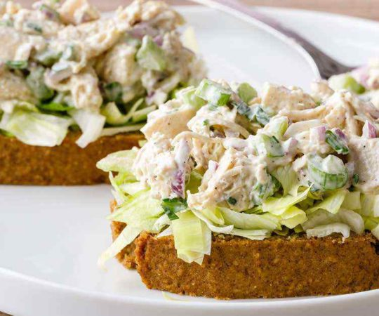 Classic Chicken Salad with Homemade Paleo Mayo