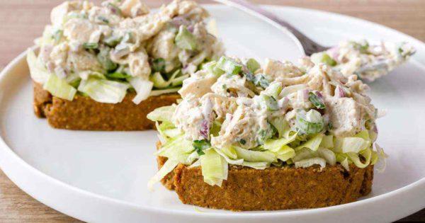 Classic Chicken Salad With Homemade Paleo Mayo Holy Yum Paleo Grubs