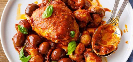 Homemade Paleo Chicken Cacciatore
