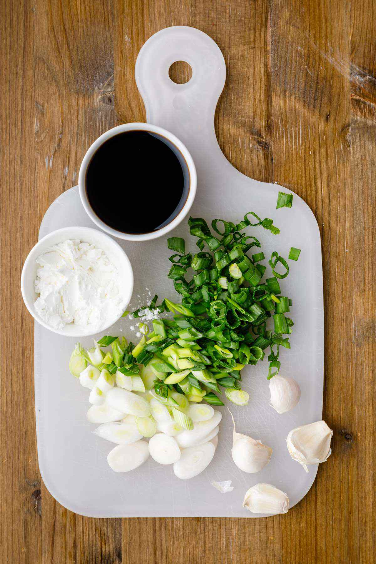 mongolian beef ingredients prep