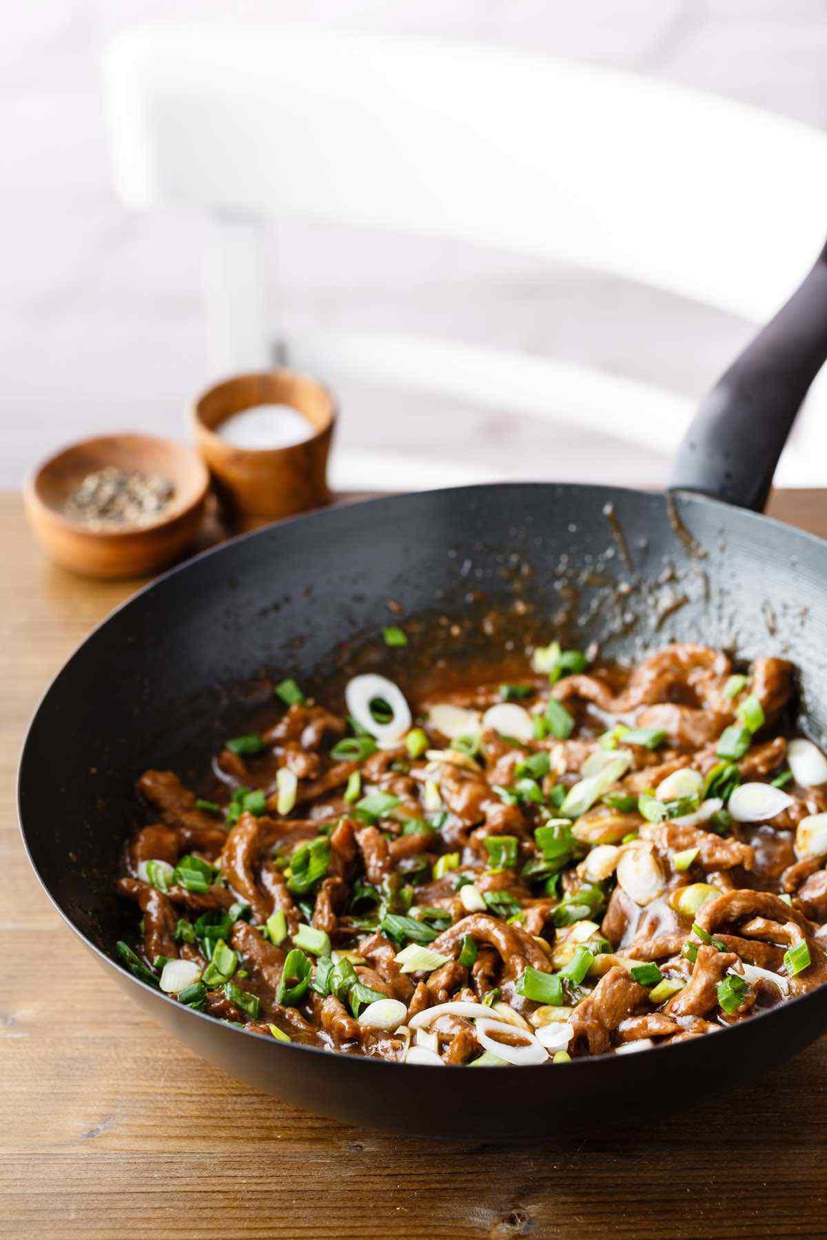 sauteed mongolian beef