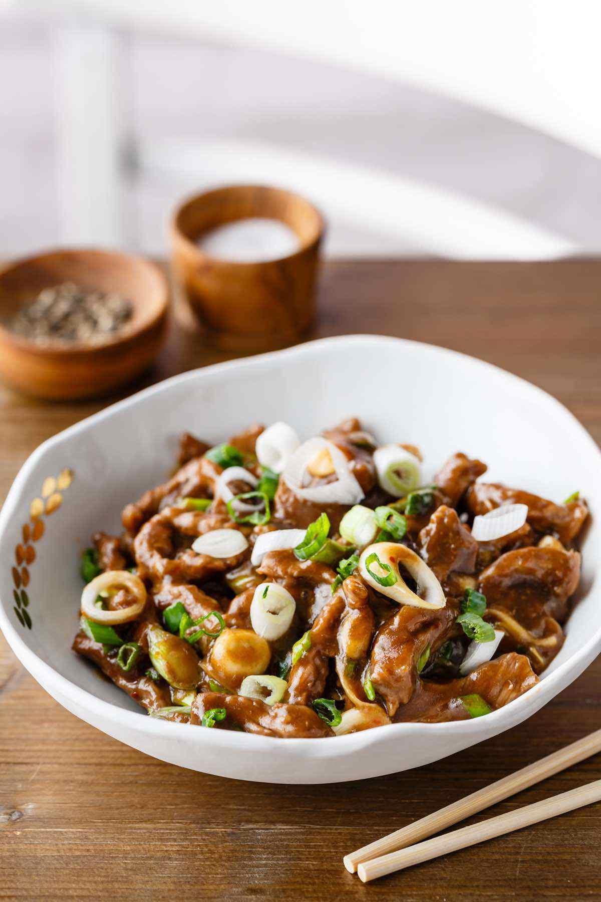 paleo mongolian beef recipe
