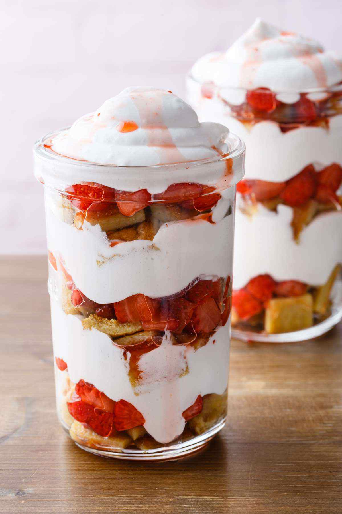 paleo strawberry shortcake in a jar recipe