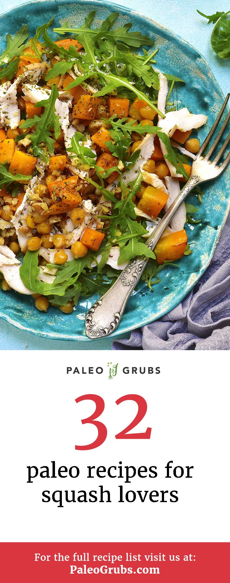 When squash is in season I'm always on the lookout for ways to use it up. Thankfully I found this collection of squash recipes. So many tasty creations!