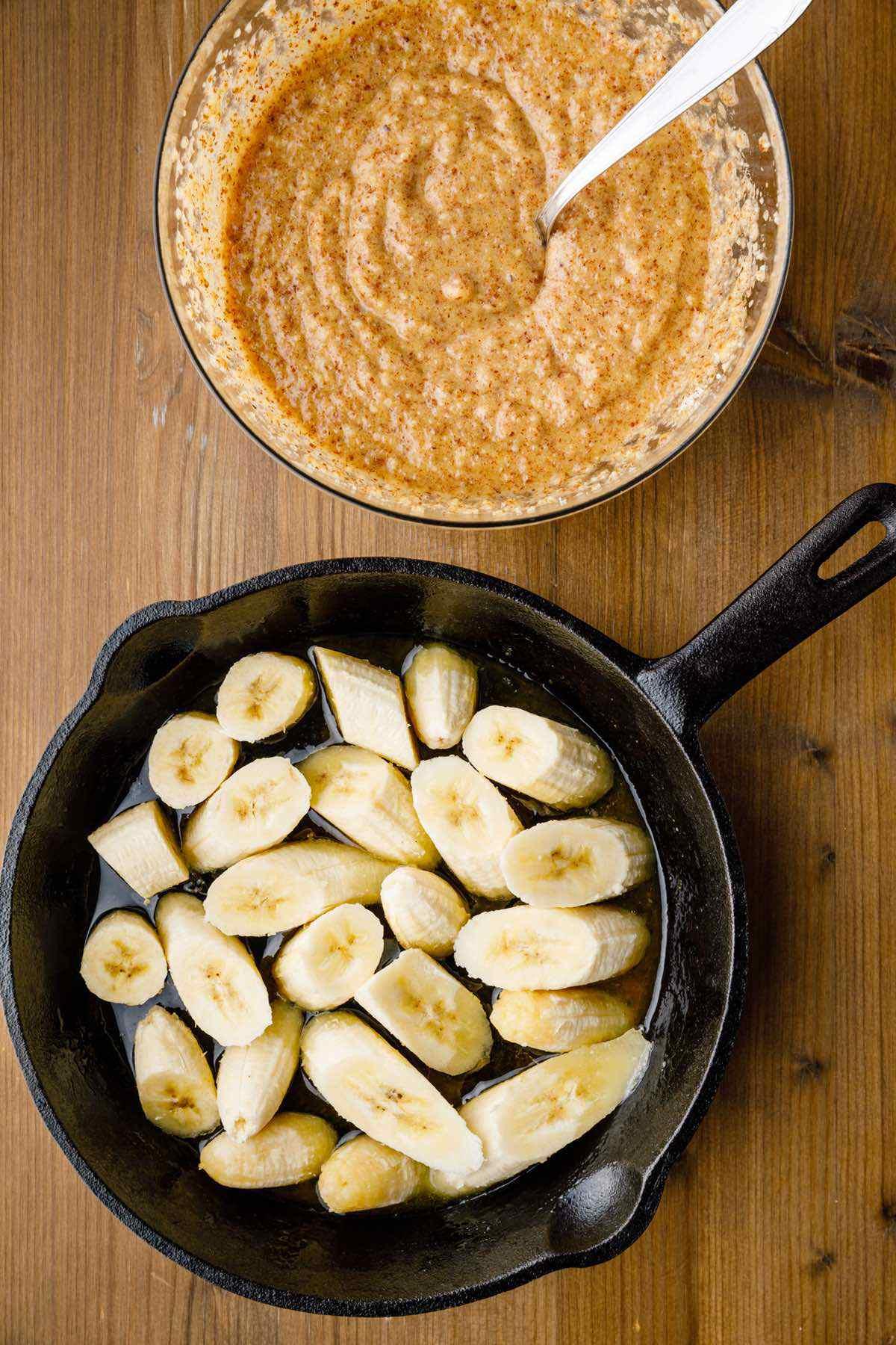 banana tarte tatin ingredients