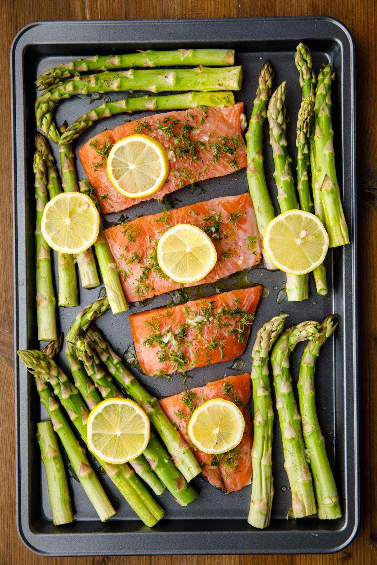 salmon asparagus ingredients