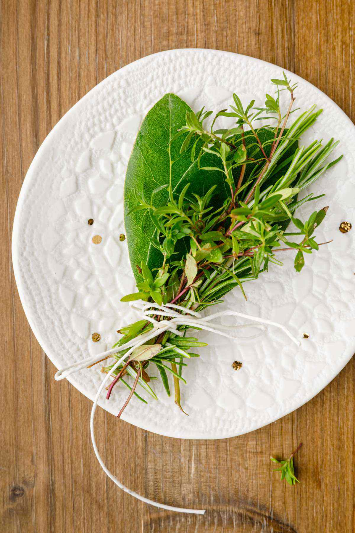 herbs for osso buco dish