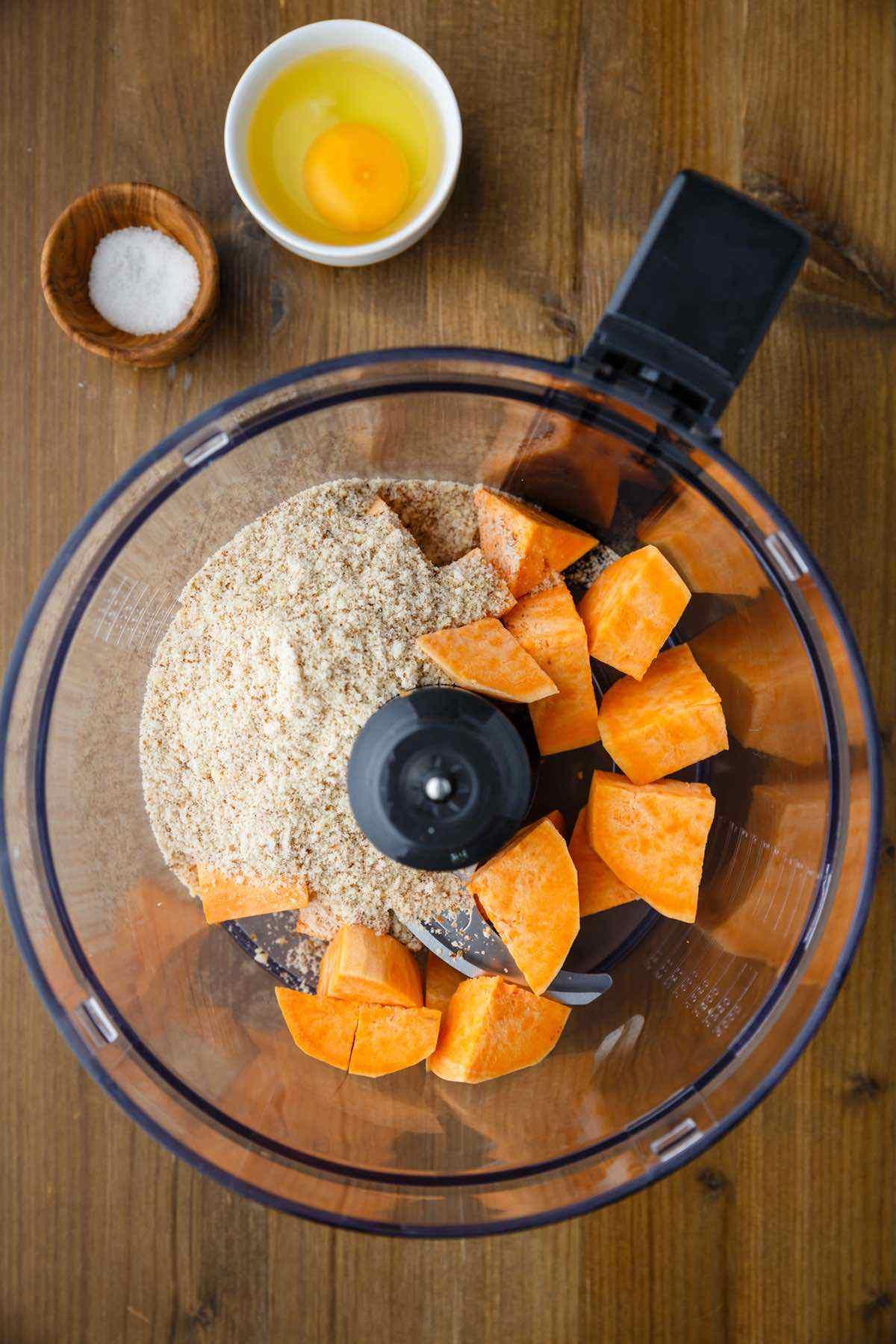 sweet potato and almond flour