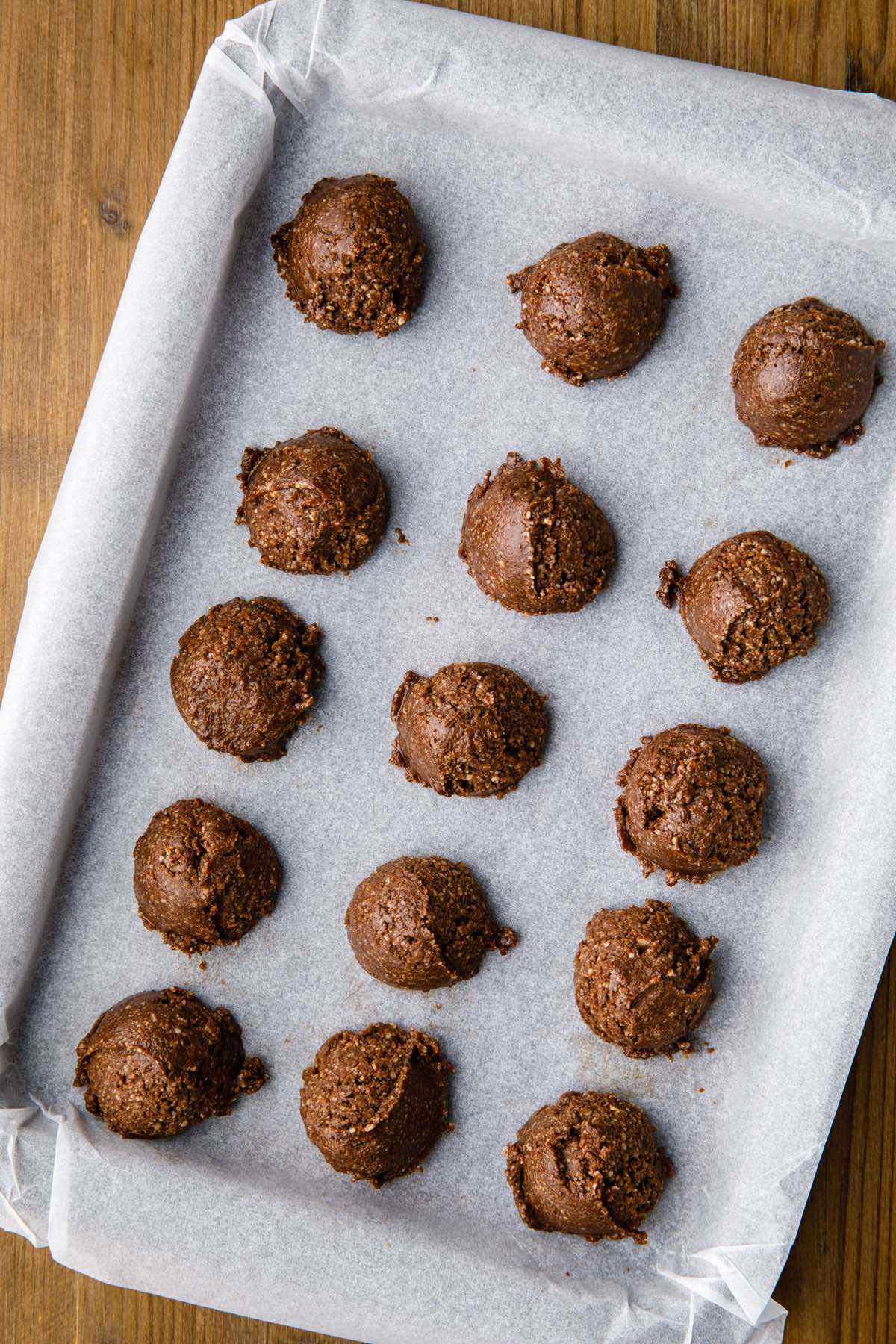 baking chocolate brownie cookies