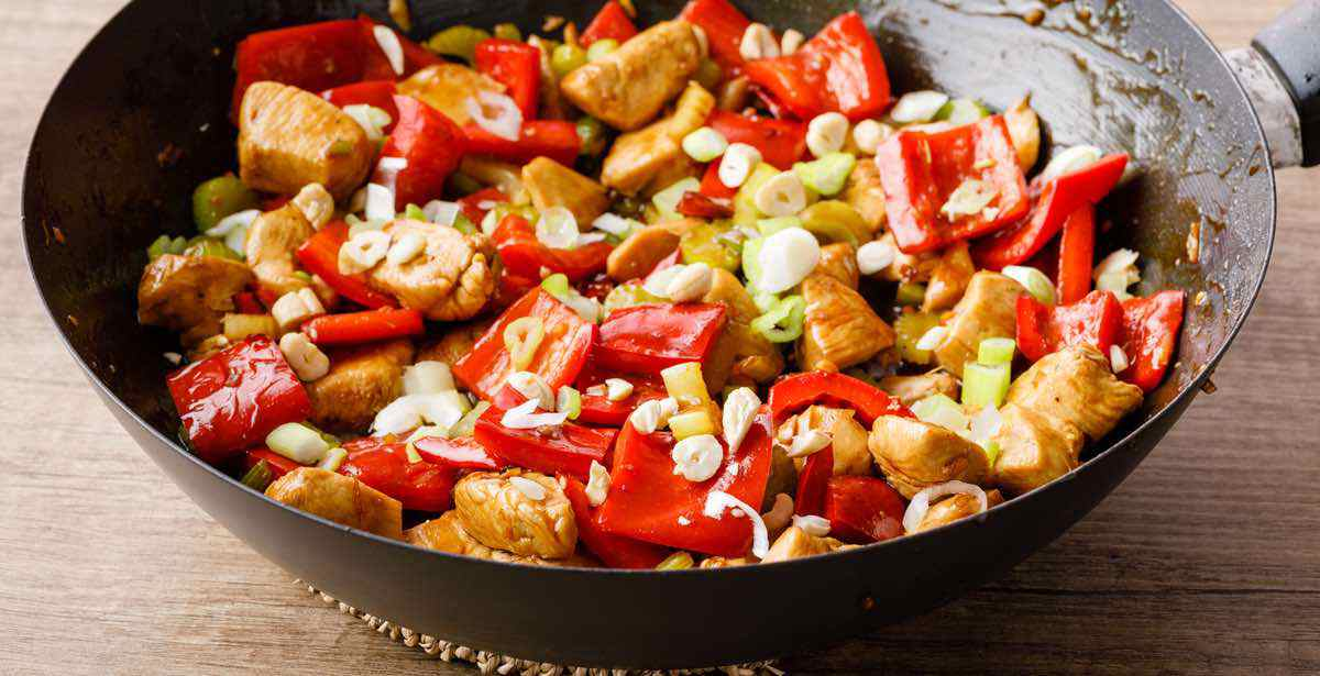 sauteed chicken and vegetables