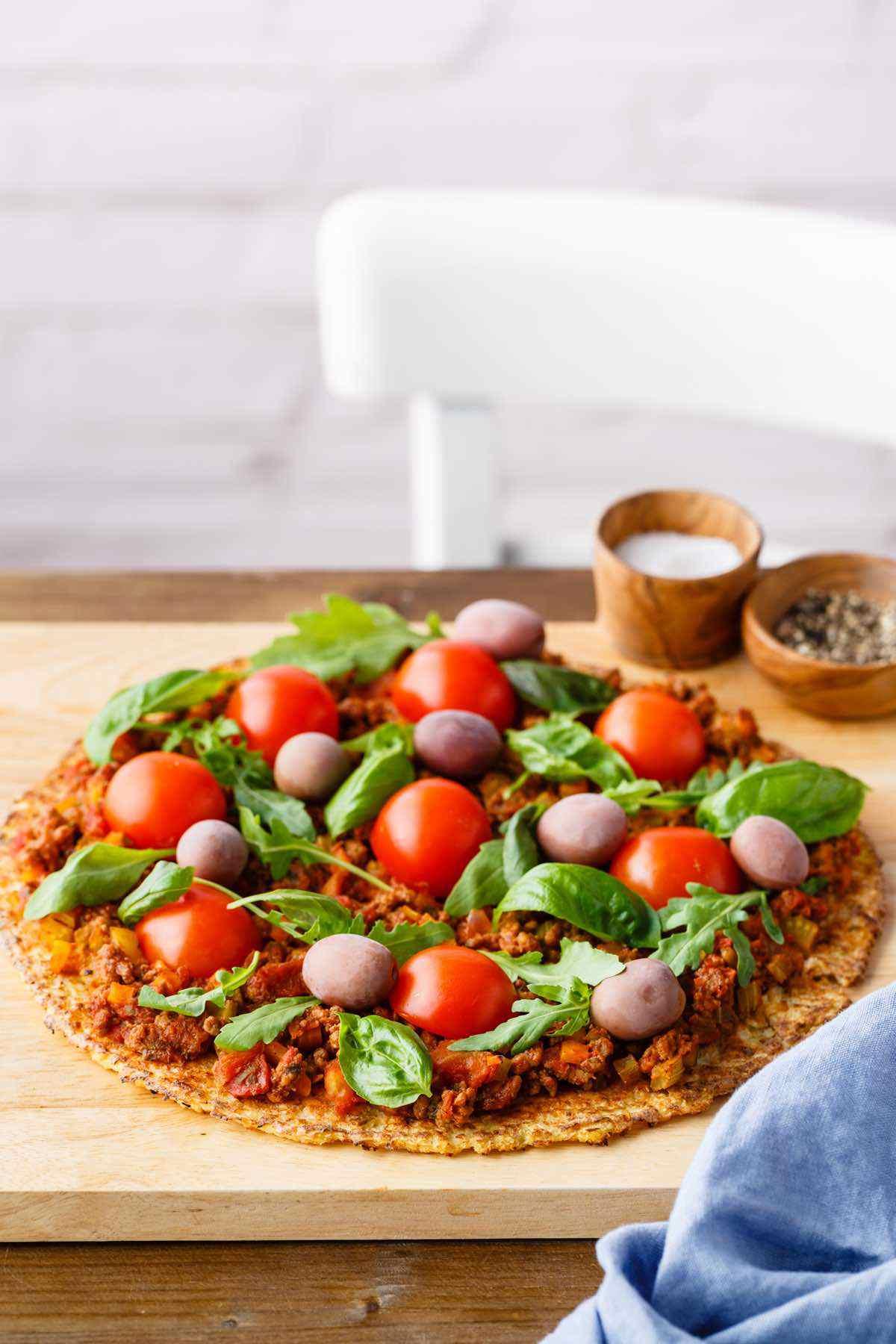 paleo bolognese pizza recipe