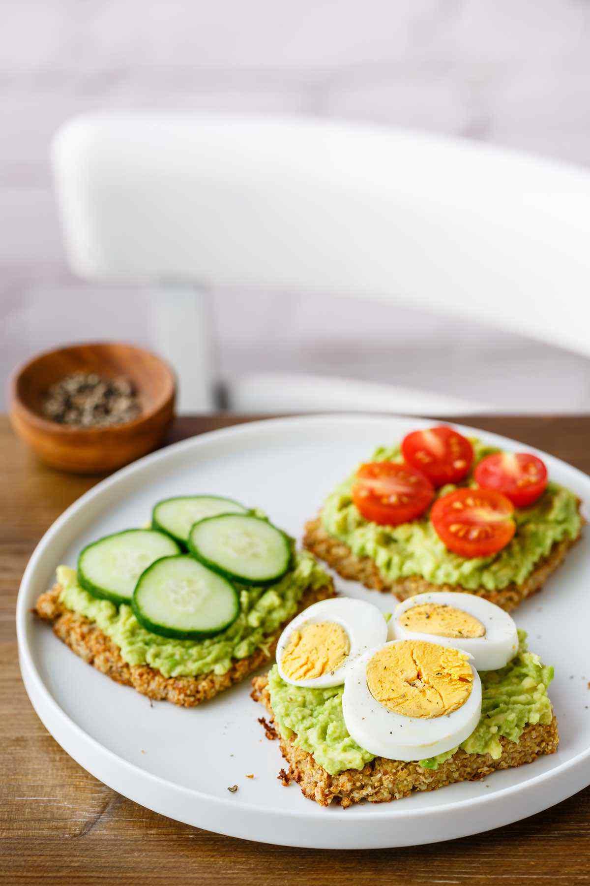 paleo cauliflower toast recipe
