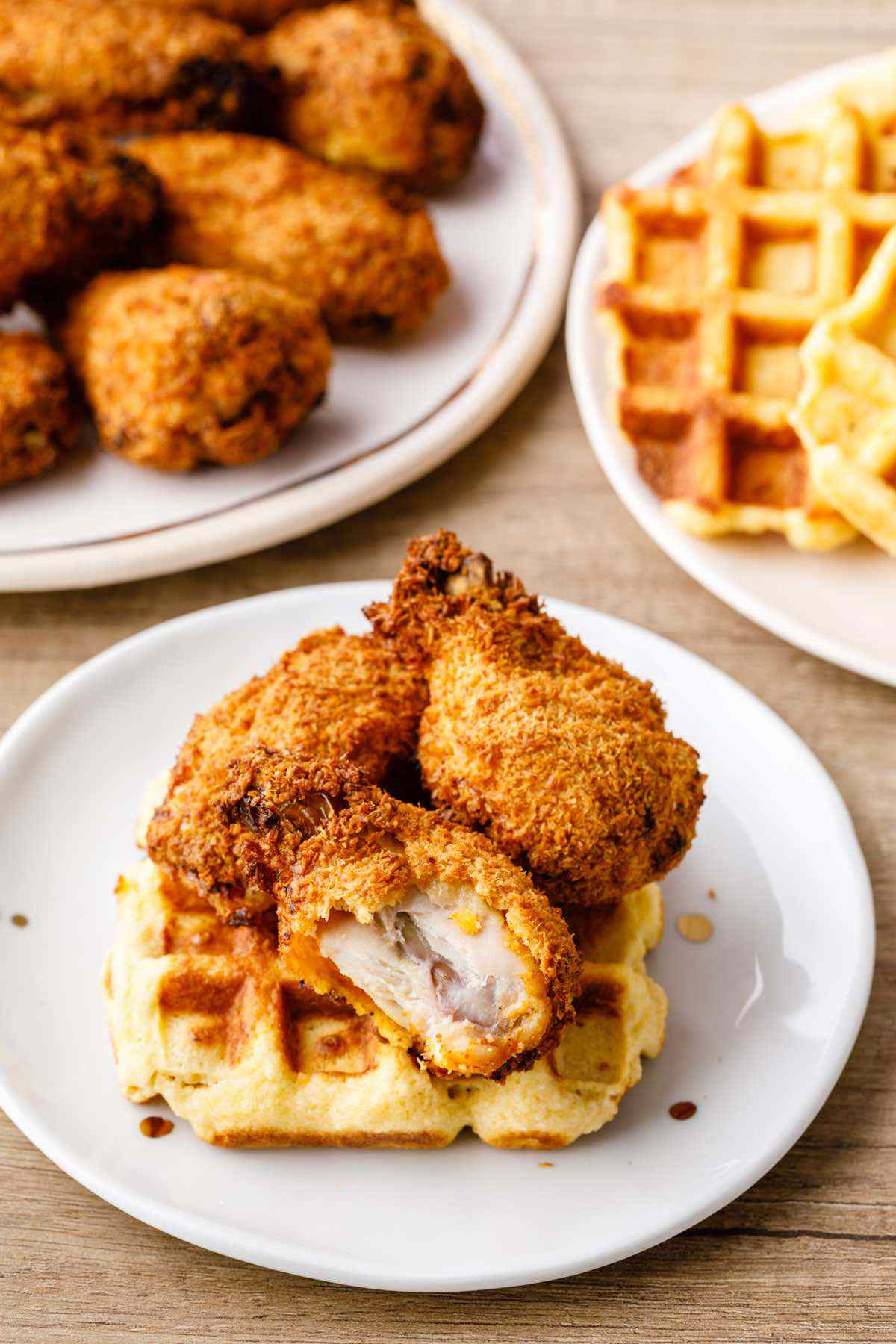 paleo chicken wings and waffles recipe
