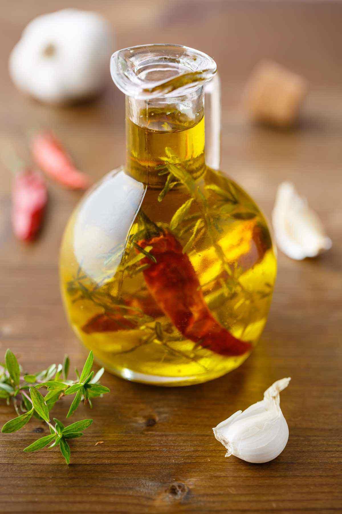 paleo garlic infused olive oil recipe
