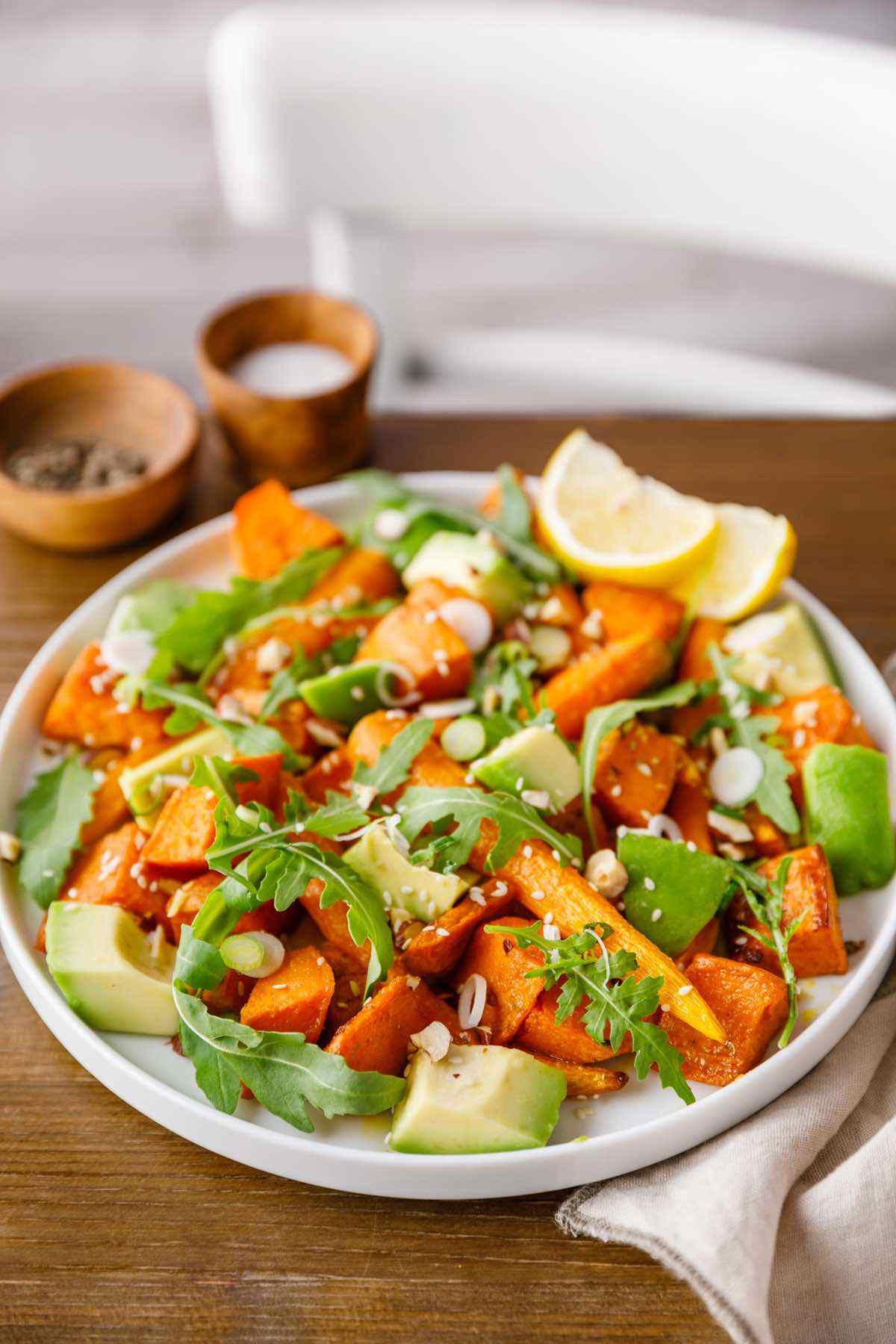 paleo morocan vegetable salad recipe